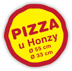 PIZZA u Honzy